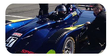WSM Mazda powered prototype testing in February at Infineon Raceway